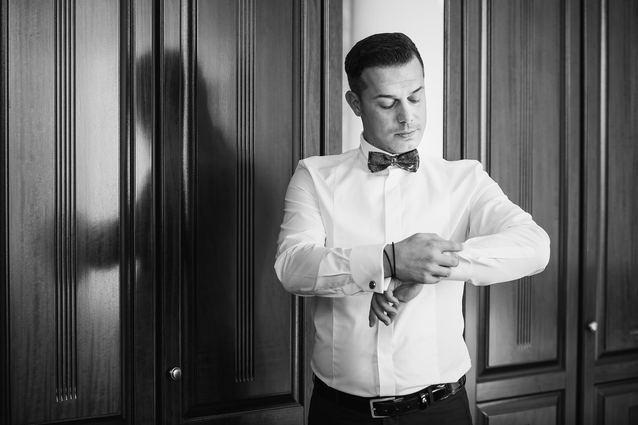 Fotograf nunta - Pregatire mire